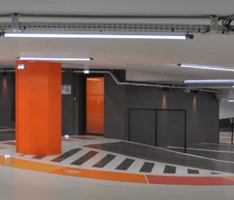 PARKING SOUTERRAIN CHEVAL ROUGE – ORLÉANS